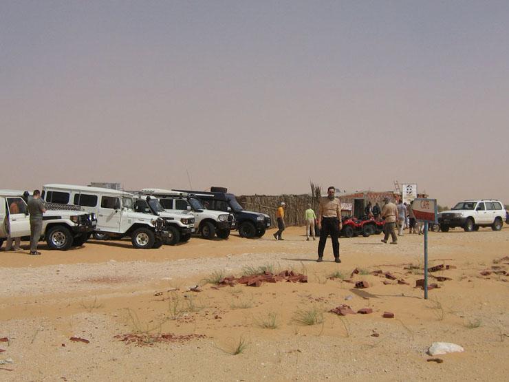 Café du Desert kurz nach Douz