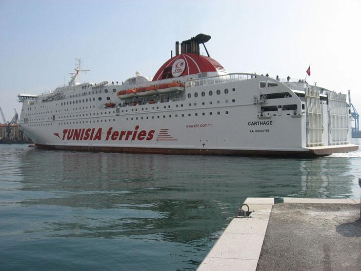 """Fähre """"Carthage""""; Tunis"""