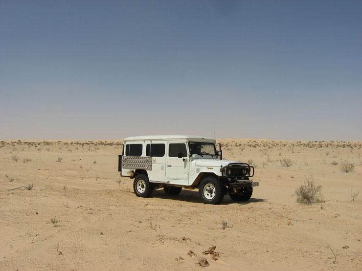 Wir verlassen El Faouar