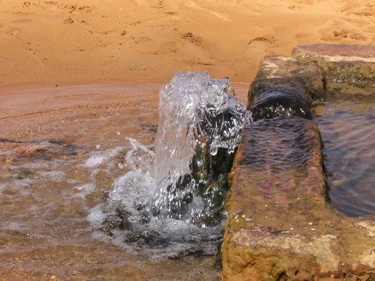 Brunnen in Ghilane
