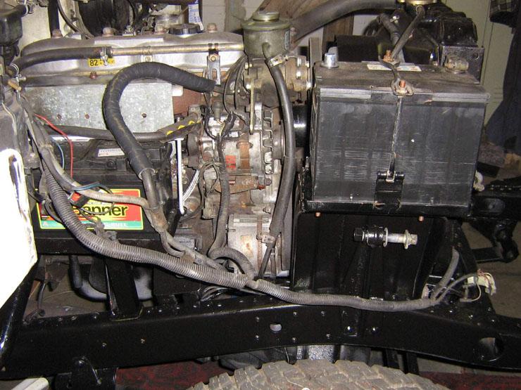 Standheizung, Dieselpumpe, Düsen, Servolenkung.