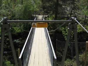 Brücke über die Victoria Falls