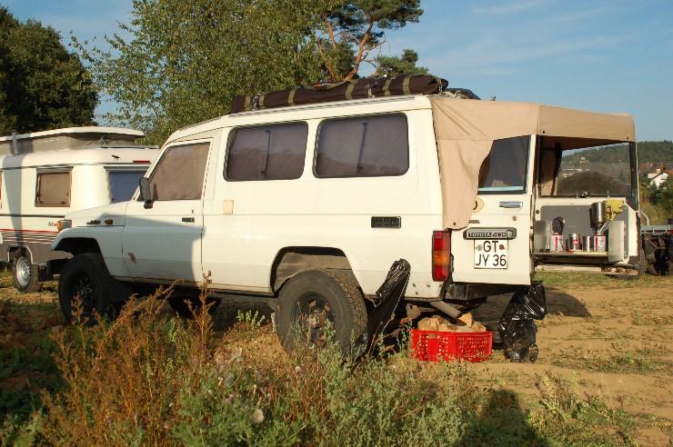Ein PZJ75 der schon mehrere Jahre in Afrika treue Dienste geleistet hat.