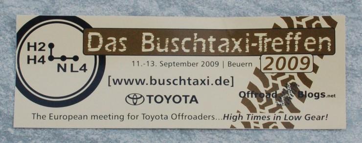DAS Buschtaxitreffen- der Name ist Programm