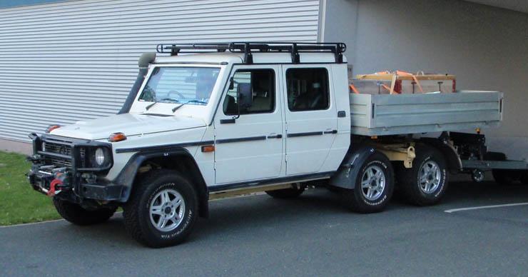 Steyr (Mercedes) G-Modell 3achsig
