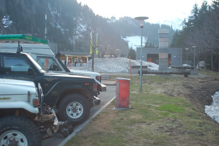 Und das Märchen endet am Gotthard wie es im Erzgebirge begann, bei kalten Temperaturen und Schnee.