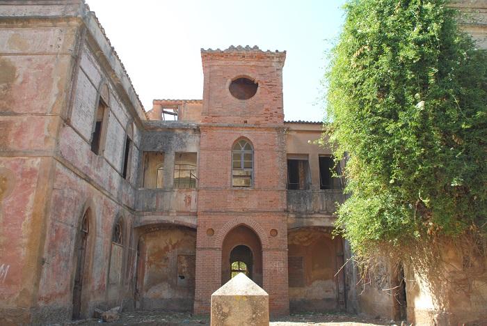 Die Villa des Minenbetreibers, es erinnert nicht mehr viel an den damaligen Reichtum.